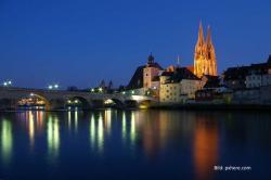 Regensburg: Dom-Illumination